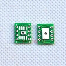 20pcs SMD SO/SOP/SOIC 8 to DIP Adapter PCB Board Converter with Cooling Pad F51A
