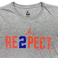 Derek Jeter Re2pect Men's Air Jordan T-Shirt RARE Florida Gators • Small