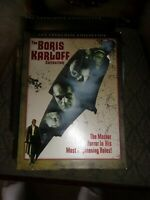 THE BORIS KARLOFF COLLECTION - 3 DISC/ 5 FILM  DVD SET -   WATCHED ONCE!!