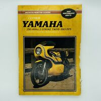 Clymer Yamaha 250-400cc 2-Stroke Twins 1965-1979 Service Repair Manual Book