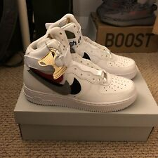 b56307b792e John Geiger X Shoe Surgeon X Nike Air Force 1 High Misplaced Checks AF1 Hi  SZ