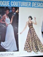 Vogue Paris Original Pattern 2986 Galitzine