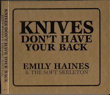 Emily Haines & The Soft Skeleton - Knives Don't Have Your Back ( CD Canada)