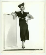 HELEN TWELVETREES ORIGINAL PARAMOUNT FASHION PHOTO DOUBLE WEIGHT FN/VF 1930s