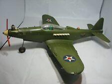 Vintage Amf Wen-Mac P-39 Airacobra Rtf Model Airplane w/.049 Engine & Pilot