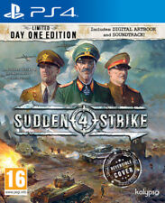 Sudden Strike 4 Limited day one edition PS4 * Neuf Scellé PAL *