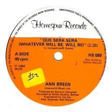 "Ann Breen - Que Sera Sera (Whatever Will Be, Will Be) - 7"" Record Single"