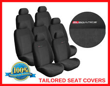 Tailored seat covers for Ford S-Max 2006-on  FULL SET  7 seater grey1