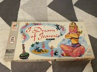 VINTAGE 1965 I DREAM OF JEANNIE MILTON BRADLEY BOARD GAME COMPLETE