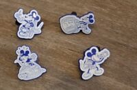 Disney Vacation Club DVC Mini-Pin 2018 Mickey Mouse Booster Set of 4 Complete