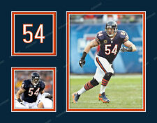 BRIAN URLACHER Photo Picture Collage CHICAGO BEARS Print 8x10 11x14 or 16x20
