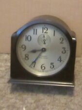 Westclox 8 day Bakelite Case jeweled Alarm Clock