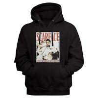 Scarface Movie Tony Montana The World Is Yours Black Adult Pullover Hoodie
