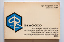 Spare Parts Catalog piaggio ape vespacar P 401 P 350