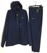Nike Sportswear Modern Zipped Hoodie Sweatsuit & Pants Dark Blue Size 3XL