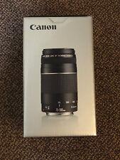 Canon EF 75-300 4-5.6 III Objektiv für EOS (58 mm Filtergewinde) NEU OVP