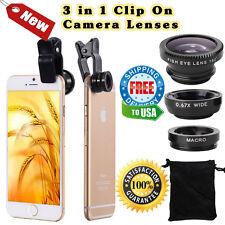 iPhone Camera Lens Kit HD Wide Angle Macro Flux HD450 HD90 HD360x 450 360 Style
