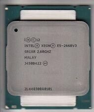 INTEL XEON E5-2660 V3 SR1XR 2.6GHZ+ 25MB L3 10-CORE LGA2011-3 (CPU ONLY) - NEW