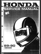 HONDA CLUBMAN GB500 1989-1990 OEM SERVICE & REPAIR MANUAL-PDF