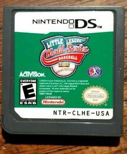 Little League World Series Baseball 2008 (Nintendo DS) VG Shape Tested Authentic