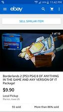 Borderlands 2 (PS3 PS4) 20 OF ANYTHING ANY VERSION OF IT International version!