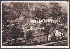 BIELLA OROPA 116 Cartolina viaggiata (1943 ?)