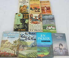 JOY PACKER-10 OF HER BESTSELLING NOVELS-THE HIGH ROOF,BOOMERANG,VERONICA+++