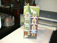 Cic'S Dept 56 5607 Park Avenue Townhouse And Big Smile For The Camera