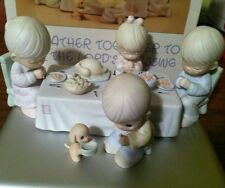 Precious Moments - MIB Retired Thanksgiving 6 Piece Set We Gather Together ...