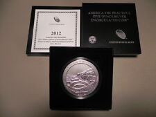 2012-P NQ1 CHACO AMERICA THE BEAUTIFUL 5oz SILVER COIN