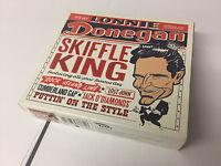 Lonnie Donegan 3 CD BOX SET NR MINT Skiffle King