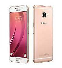 "New Imported Samsung Galaxy C5 Duos Dual 32GB 4GB 5.2"" 16MP 8MP Pink Gold"