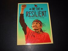 "ERNESTO YERENA Sticker 4X5.25"" WE THE RESILIENT poster print Shepard Fairey"