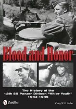 """Book - Blood and Honor: History of the 12th SS Panzer Division """"Hitler Youth"""""""