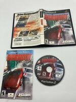 Sony PlayStation 2 PS2 CIB Complete Tested Burnout 2001 Ships Fast