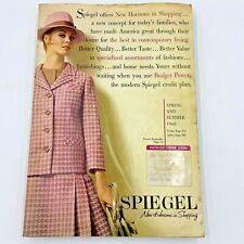 Vintage 1968 Spiegel Catalog 571 pages Spring Summer Fashion Home Decor B16