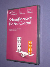 Teaching Co Great Courses DVD    SCIENTIFIC SECRETS for SELF-CONTROL  new sealed