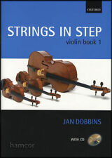 More details for strings in step violin book 1 by dobbins book/cd same day p and p