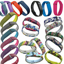 Replacement Pattern Bands for Fitbit Flex Strap Wristband Metal Clasp Tracker