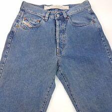 Diesel CHEYENNE Mens Vintage Jeans W29 L34 Blue Regular Fit Straight High Rise