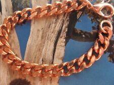 Men's 8 Inch Solid Copper Bracelet CB636G  - 7/16 of an inch wide.
