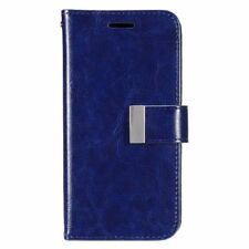 Étuis, housses et coques etuis portefeuilles bleus Samsung Galaxy S7 edge pour téléphone mobile et assistant personnel (PDA)