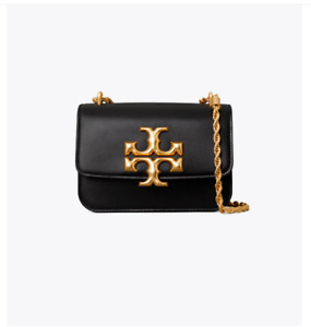 Tory Burch Eleanor Small Convertible Shoulder Bag - BLACK