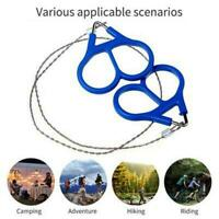Travel Survival Gear Stainless Steel Wire Saw Outdoor Hiking Camping G3M1