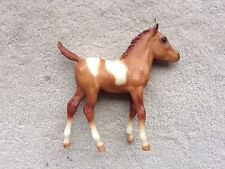 Rare Retired Breyer Horse #893 Scribbles Chestnut Tobiano Paint Foal Sea Star