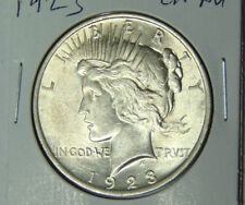 Choice AU 1923 Peace Silver Dollar Premium Quality About Uncirculated (81317)