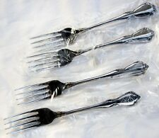 Oneida OneidaCraft Deluxe Stainless CHATEAU ~ 4 Dinner FORKS ~ Excellent!