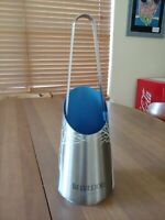 Belvedere Vodka Silver Metal Ice Bucket Chiller With Tongs