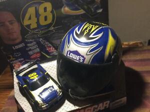2009 Jimmie Johnson Janks Pacific Nascar Helmet  Racers Toy