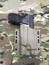 FDE Kydex Holster SIG P226R MK25 Threaded Barrel Surefire X300 Vampire
